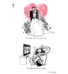 C. Cassandra comics :: 9 Truths: Being Single   Tapastic Comics - image 5