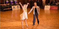 The current World Champions Showdance Latin, Kathrin Menzinger and Vadim Garbuzov.