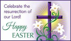 easter with cross