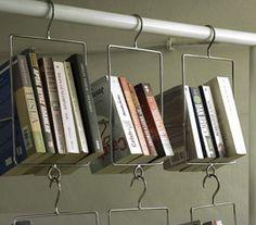 UNAL AND BOLER BOOK HANGERS - found:http://www.das-rote-paket.de/en/products_shop_area/detail/21-0-30.floating_shelf_salkim.html