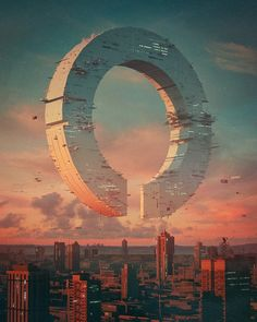 Ring by beeple : Cyberpunk