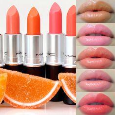 YSL Rouge Volupte Shine Lipstick Orange Impertinent 16 lip #1: 30e70d4f d5ac25f155bee5ceacc lipstick swatches makeup swatches