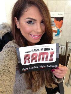 """Hübscher Look von Hanadi Diab, frische Website von Rami:  Hanadi Diab ist für viele aus der Branche bereits ein Begriff - u.a. bekannt als Make Up Artist bei """"4 Hochzeiten"""" (VOX). Dabei wurde sie von keinem geringerem als Promi-Visagist Holger Hoffmann - bekannt aus SAT1 - zertifiziert.  Die von Rami Media produzierte Website gibt's unter http://HDBEAUTY.de - das neue Beauty-Studio findet sich direkt in der Stuttgarter City."""