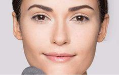 Gesicht konturieren mit Camouflage Make-up: Fixieren