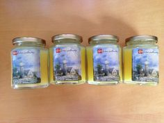 Set of 4 Home Interior Light in the Storm Candles 7.5 oz Each -Candle 4 Canines