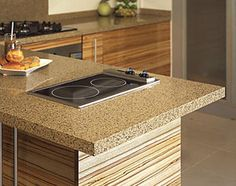 New fusion mv623 this stunning new hanstone color was for Most popular kitchen countertops