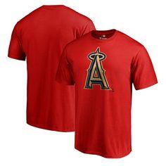 Los Angeles Angels of Anaheim Fanatics Branded Slugger T-Shirt - Red