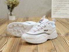 size 40 faef7 27c83 Best Price FILA Ray X Folder Shoes White Grey Red