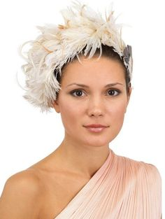 Heather Feather Headband - Lyst