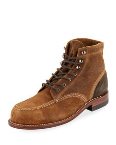 3f883a80585 WOLVERINE MEN S 1000 MILE RUGGED WAXY SUEDE BOOTS.  wolverine  shoes