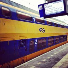 Dutch double decker train, Nederlandse Spoorwegen