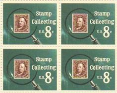 Stamp Collecting Set of 4 x 8 Cent US Postage Stamps NEW Scot 1474 by US Postage…