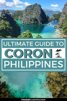 It's impossible not to love Coron! Located in in the Philippines, in Palawan, Coron is simply . Voyage Philippines, Les Philippines, Philippines Travel Guide, Philippines Vacation, Coron Palawan Philippines, Phillipines Travel, Palawan Island, Travel Guides, Travel Tips