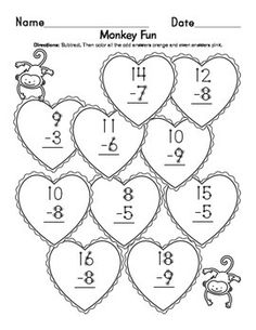 Great worksheet with touch points for Valentine's day! My kids are going to love this. Touch Point Math, Touch Math, School Fun, School Stuff, School Ideas, Future Classroom, Classroom Ideas, Saxon Math, Mighty Max