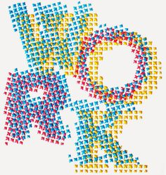 Handmade Type - Evelin Kasikov – CMYK embroidery and Typographic Design – London Embroidery Letters, Embroidery Hoop Art, Cross Stitch Embroidery, Typographic Design, Typography, Types Of Lettering, Embroidery Techniques, Textile Art, Fine Art Paper