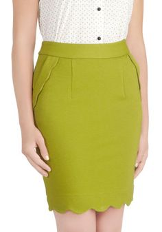Olive occasion skirt from modcloth