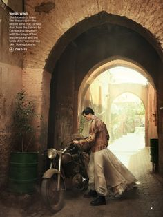 stardust: edie campbell by peter lindbergh for us vogue june 2013 | visual optimism; fashion editorials, shows, campaigns & more!
