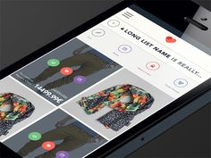 Mobile E-Commerce App Product Grid View | User Interface Design