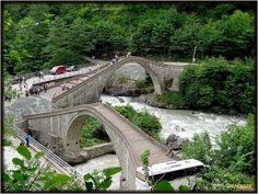 Çifte Köprü(double bridge) Arhavi Artvin Turkey