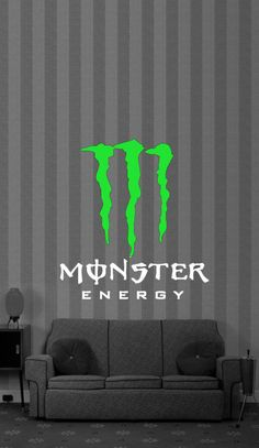 Monster Energy Drink Vinyl Wall Art Decor Decal. $24.99, via Etsy.