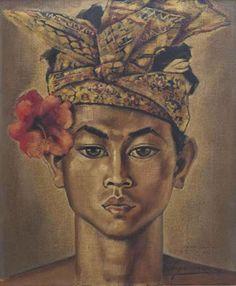 Balinese man by auke Sonnega