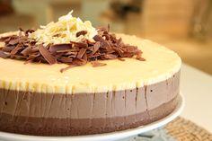 Torta de 3 mousses de Maru Botana. Si nunca la has probado, aquí tienes la receta: elgour.me/1BAhW6v #elgourmet #Recetas #Dulces