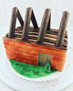 Wedding cake idea   Lustige torten, Torten