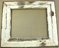 16 x 20 Frame made from 5 inch beadbaord, from a old building in Texas. Includes plex, foamboard, and mounting and hanging hardware. Old Building, Frame, Projects, House, Inspiration, Etsy, Vintage, Home Decor, Picture Frame