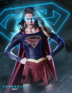 Poster of The CW Supergirl Melissa Benoist by Bosslogic
