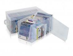 Caixa Organizadora com tampa - Kit com 2 caixas