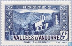 Andorra - French - Landscapes 1942