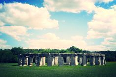 Stonehenge replica in the Texas Hill Country! This is in Ingram, TX.