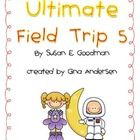 """This packet is a Fifth Grade Treasures Resources for """"Ultimate Field Trip 5"""".     Resources include:    Spelling word cards  Vocabulary cards  Genre and..."""