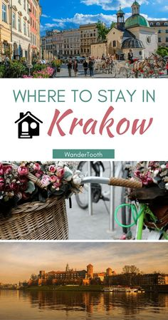 Where to stay in Krakow, Poland: all you need to choose the best hotels in Krakow. A best neighborhoods in Krakow guide - @WanderTooth