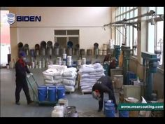 Video show of our industrial protective coating materials