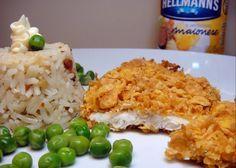 Peixe assado e crocante com maionese Hellmann's Easy Cooking, Cooking Recipes, Healthy Recipes, Healthy Food, Fish Recipes, Seafood Recipes, Portuguese Recipes, 30 Minute Meals, Fabulous Foods