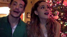 Ariana & Frankie Grande wish you a Merry TITmas! Ariana Grande, Frankie Grande, I Really Love You, Cute Gif, Make You Smile, Elephants, Old Photos, Moonlight, Ponytail