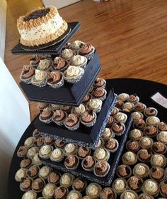 Our incredibly creative and delicious gluten-free vegan wedding cupcakes.