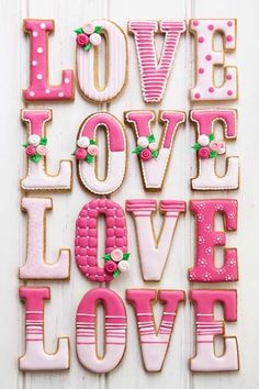 "queenbee1924: "" letters of love | Letters ✿⊱~ Words ✿⊱~ Art | Pinterest) """