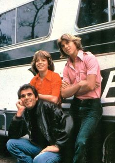 Alex Rocco, Leif Garrett and Vince Van Patten in Three for the Road