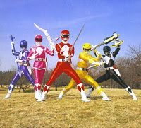 back when the power rangers were actually worth watching