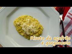 Risoto de açafrão e gorgonzola | Receitas que amo