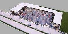 SPV Arquitectos  |  Plaza Comercial Maia  |  Comercial