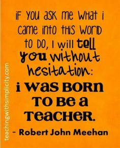 I'm with you Robert John Meehan
