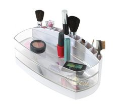 compact make-up storage box, great for getting your cosmetics organised.
