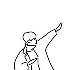 drawings of personalities Minimalist Icons, Minimalist Drawing, Minimal Drawings, Easy Drawings, Aesthetic Drawing, Aesthetic Art, Character Illustration, Illustration Art, Couple Art