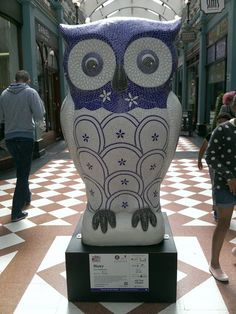 BLUEY OWL. raised 10,000 pounds at the auction