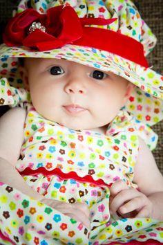 Infant Dress Newborn DressBaby Girl IttyBitty by littledixiechicks, $24.00