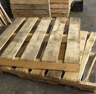 How to make a deck with wood pallets.