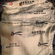 #denham #selvedge #denim